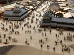 Just a small portion of a huge diorama of Edo, the former name of Tokyo.