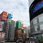 Everywhere you point you camera in Shinjuku, there's something big, bright and bold!