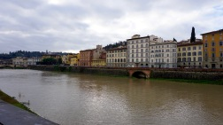 View across Arno River