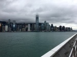 The view of Hong Kong Island from the Tsim Sha Tsui Promenade