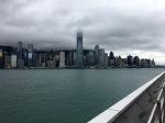 The view of Hong Kong Island from the Tsim Sha Tsui Promenade