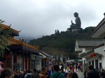 "Headed toward the Po Lin Monastery and the Tian Tan ""Giant"" Buddha"