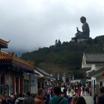 "Headed toward the Po Lin Monastery and the Tian Tan ""Giant"" Buddha"