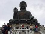 "Up 260 steps to the Tian Tan ""Giant"" Buddha"