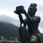 One of the Bodhisattvas surrounding the Giant Buddha