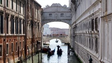 The 'Bridge of Sighs'