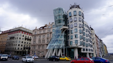 The 'Dancing House'!