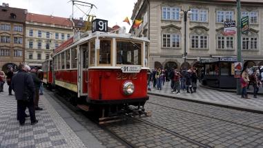 Prague classic tram