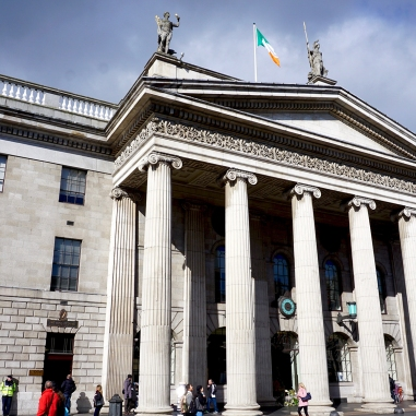 General Post Office - headquarters during the Easter Rising