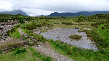 Next to Sligachan Bridge