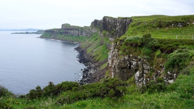 Next to Kilt Rock