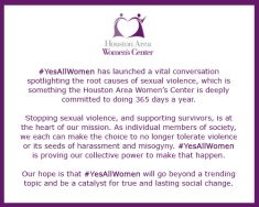 HAWC Statement - Yes All Women
